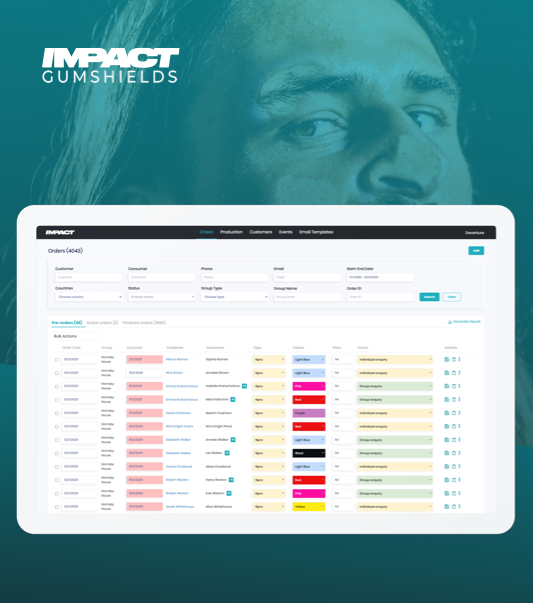 Impact Gumshields project preview