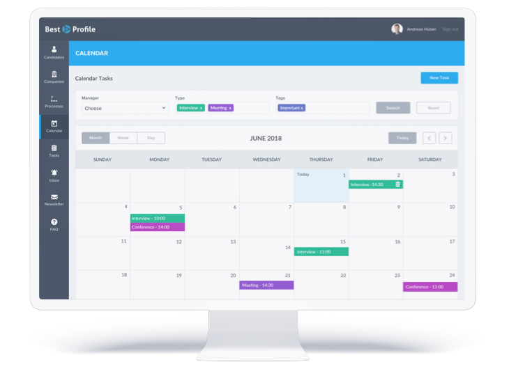 best profile calendar tasks monthly planning